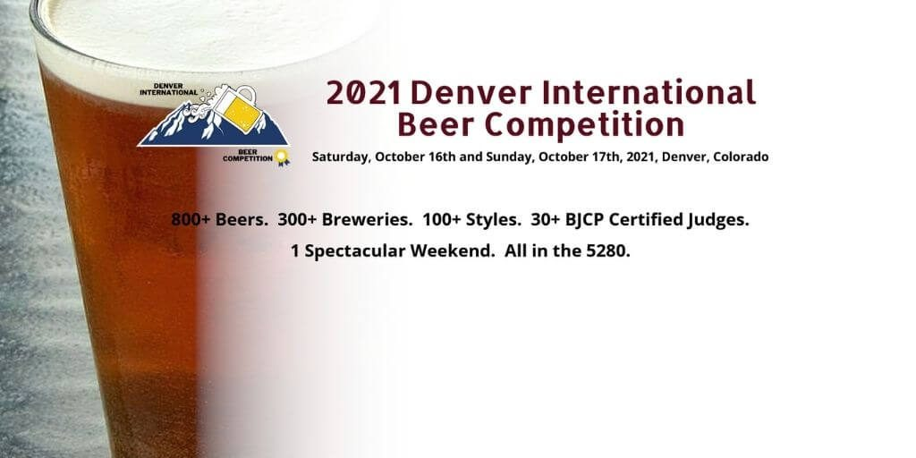2021 Denver International Beer Competition