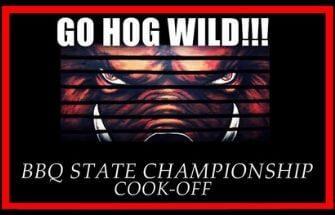 Go Hog Wild BBQ State Championship Cook-Off