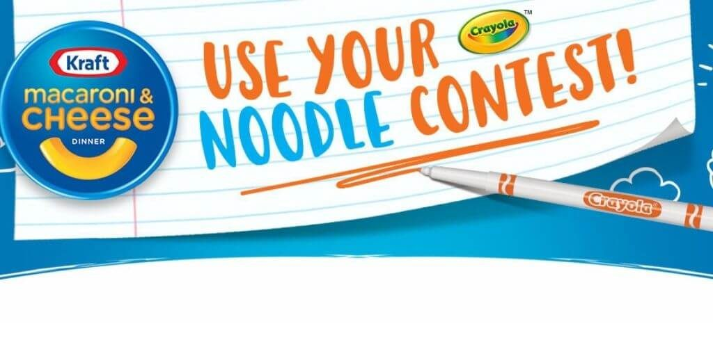 2021 Kraft Mac and Cheese Use Your Noodle Contest