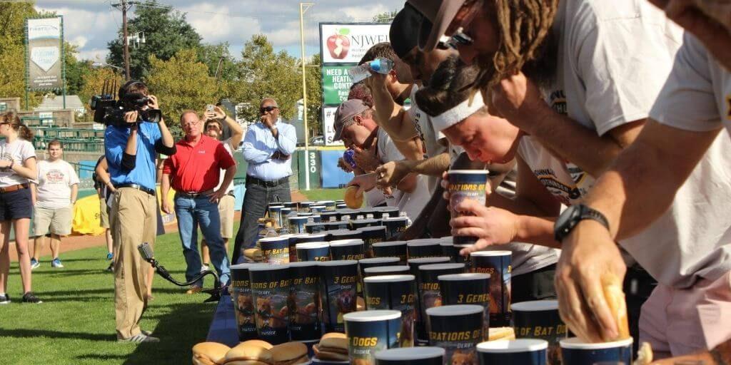 2021 River Fest - Trenton Thunder World Famous Case's Pork Roll Eating Championship