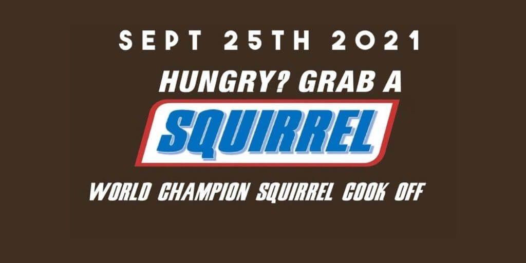 2021 World Champion Squirrel Cook-Off